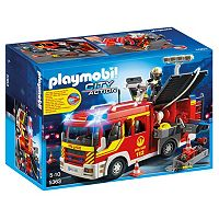 Playmobil Fire Engine with Lights & Sounds Playset - 5363
