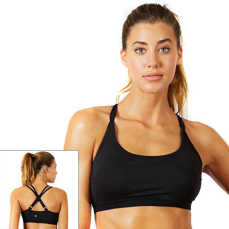 Bally Total Fitness Bra: Ellie Medium-Impact Sport Bra FLB0071A