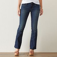 Women's SONOMA Goods for Life™ Slim Fit Bootcut Jeans