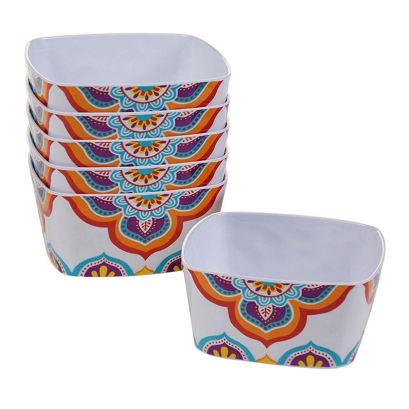 Certified International Akela 6-pc. Ice Cream Bowl Set