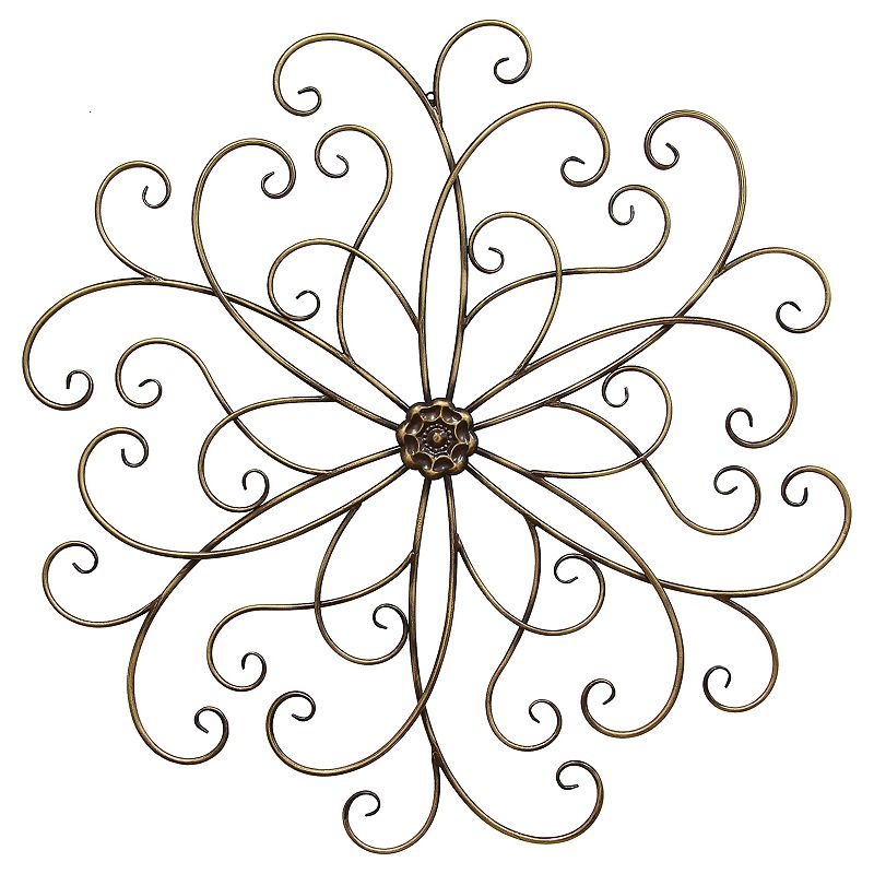 Stratton Home Decor Classic Medallion Wall Art Dealtrend