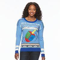 Women's Hanukkah Crewneck Sweater
