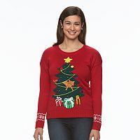 Women's Light-Up Christmas Crewneck Sweater