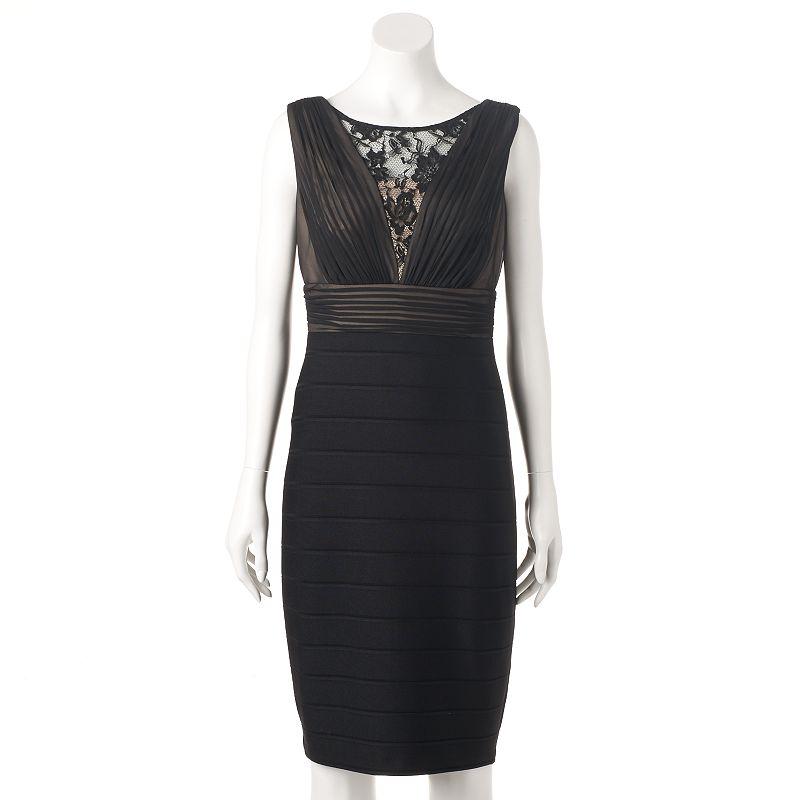 Women's Chaya Illusion Lace Sheath Dress