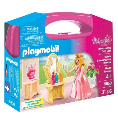 Playmobil Princess Vanity Carrying Case Playset  - 5650
