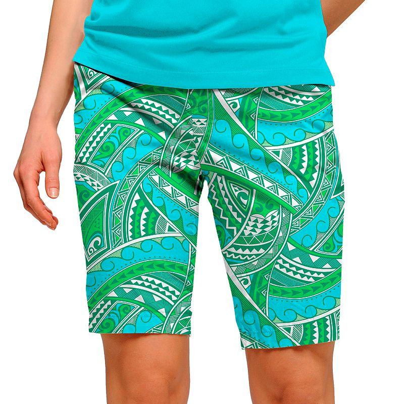 Women's Loudmouth Golf Tatu Bermuda Shorts