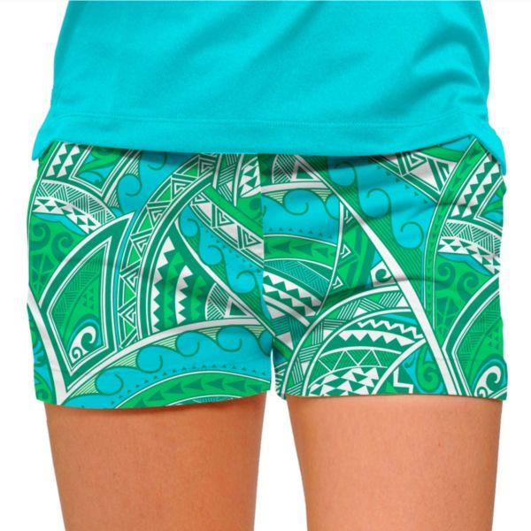 Women's Loudmouth Golf Tatu Mini Shorts