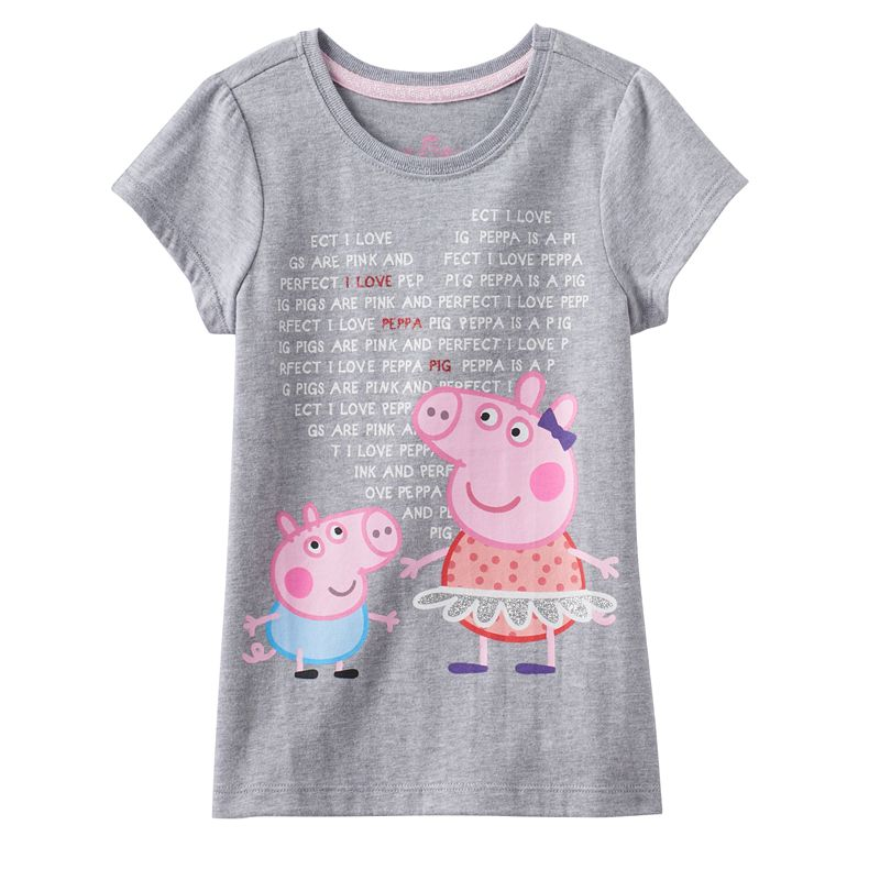 Girls 4-6x Peppa Pig