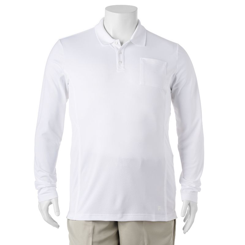 Big & Tall FILA SPORT GOLF® Fitted Performance Polo