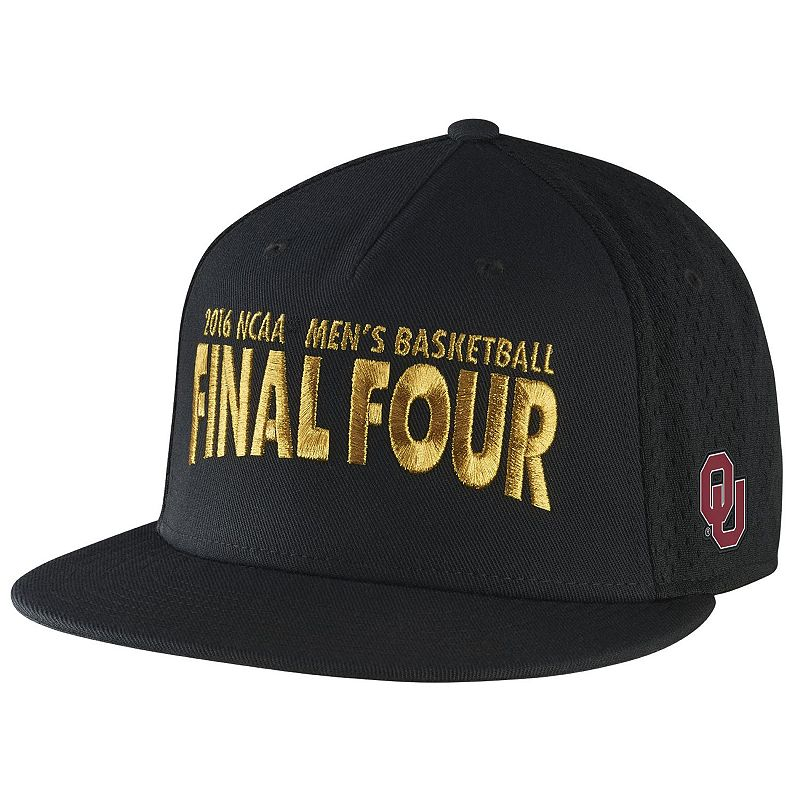 Adult Nike Oklahoma Sooners 2016 Men's Basketball Regional Champions Locker Room Cap