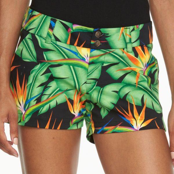 Women's Loudmouth Golf Bora Bora Mini Shorts