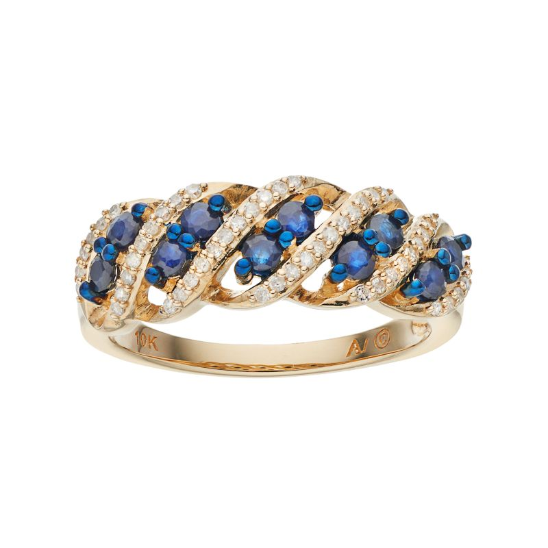 beautiful gemstone ring kohl s