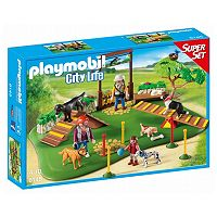 Playmobil City Life Dog Park Super Set - 6145