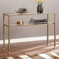 Glass Transitional Sofa Table
