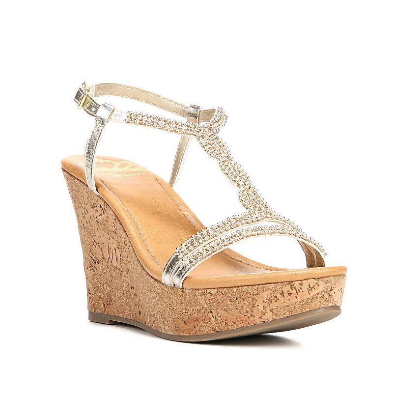 Fergalicious Kara Women's Wedge Sandals