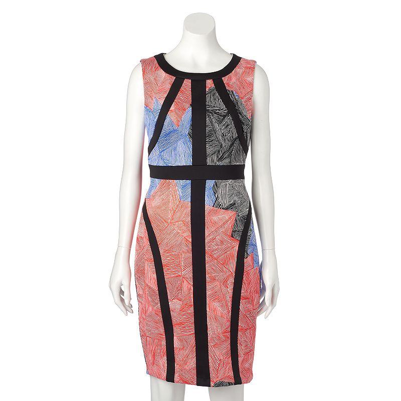 Women's Jax Abstract Floral Sheath Dress