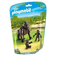 Playmobil Gorilla with Babies Set - 6639