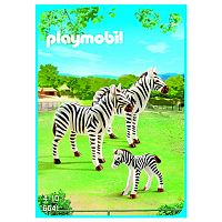 Playmobil Zebra Family Set - 6641