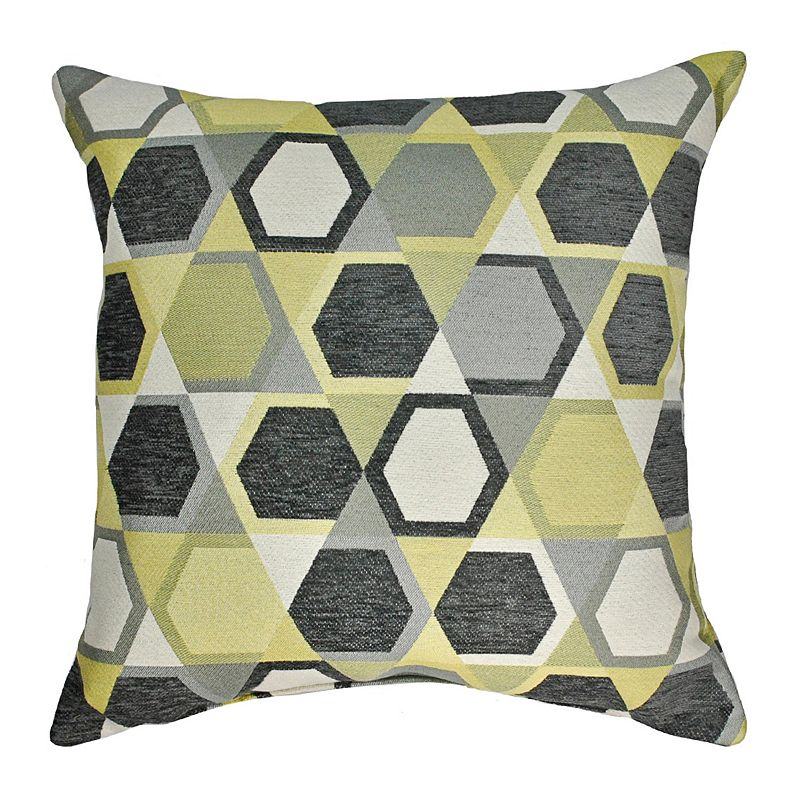 Sherry Kline Honeycomb Chenille Jacquard Throw Pillow