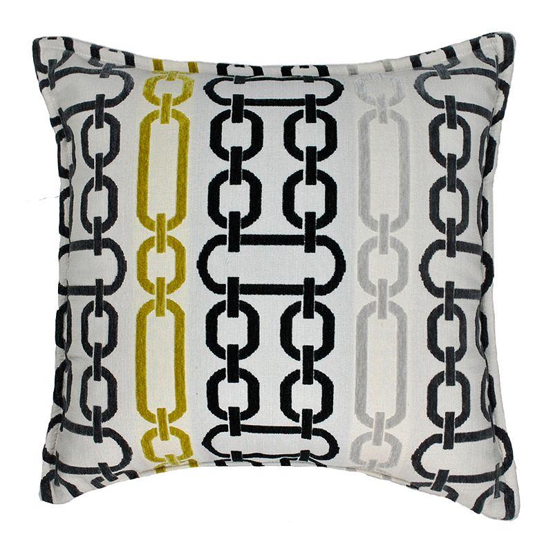 Sherry Kline Illusion Flocking Throw Pillow