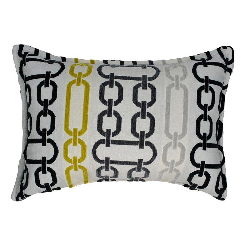 Sherry Kline Illusion Boudoir Flocking Oblong Throw Pillow