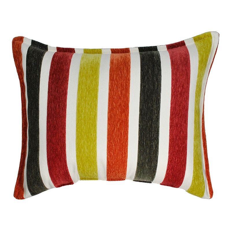 Sherry Kline Zest Boudoir Flocking Oblong Throw Pillow