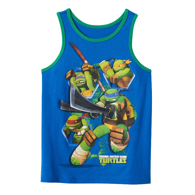 Boys 4-7 Teenage Mutant Ninja Turtles Group Graphic Tank
