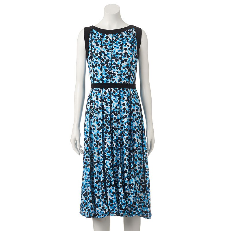 Women's Perceptions Abstract A-Line Dress