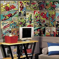 RoomMates Marvel Comic Panel Wall Mural