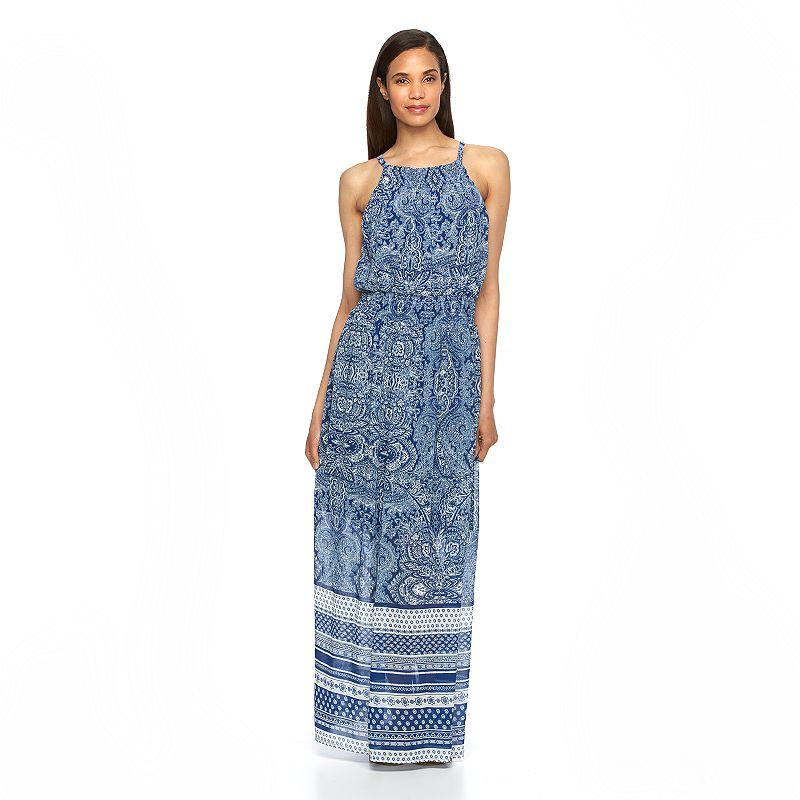 Women's Luxology Cleo Smocked Maxi Dress