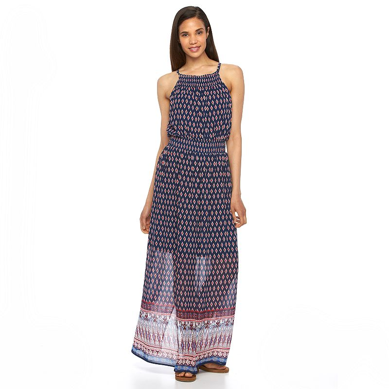 Women's Luxology Cleo Smocked Maxi Dress