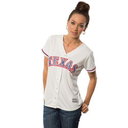 Women's Majestic Texas Rangers Replica Jersey