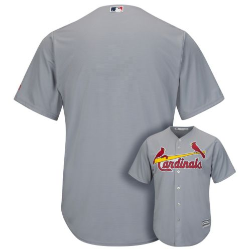 Men's Majestic St. Louis Cardinals Replica MLB Road Jersey