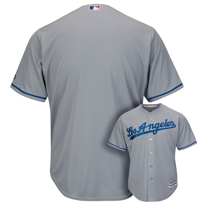 Men's Majestic Los Angeles Dodgers Replica MLB Road Jersey