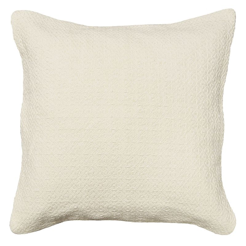 Spencer Home Decor Roller Texture Throw Pillow Dealtrend
