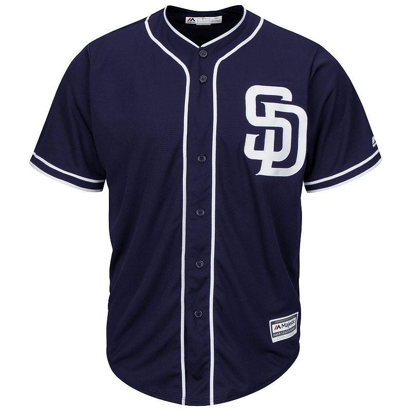 Men's Majestic San Diego Padres Replica MLB Jersey