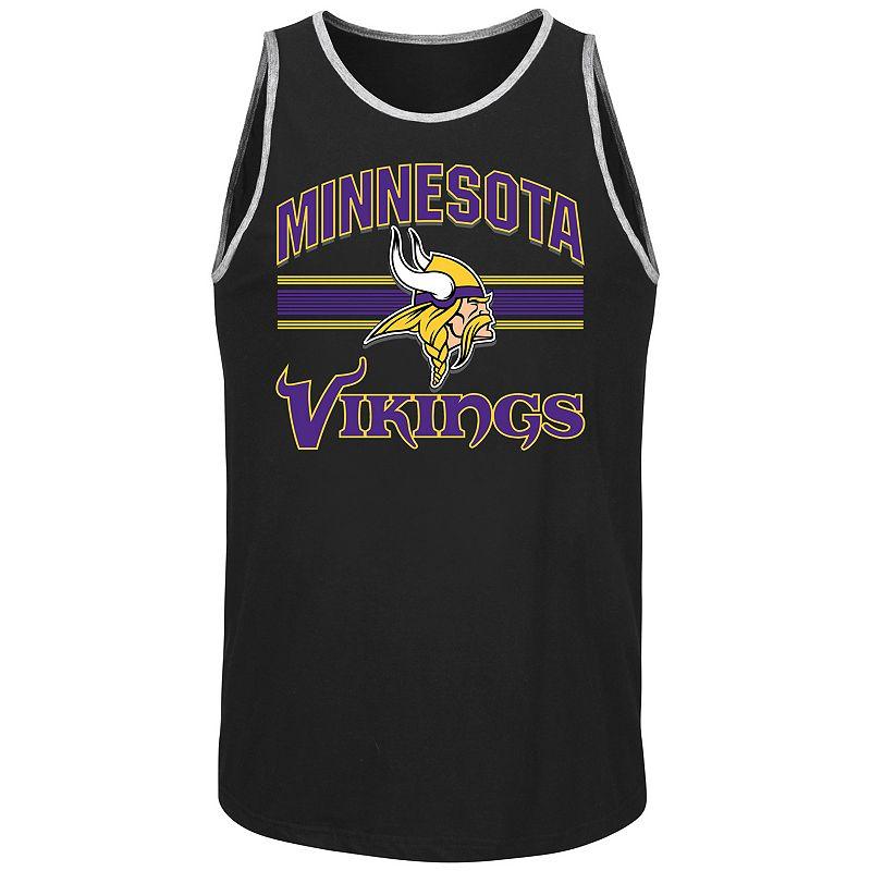 Men's Majestic Minnesota Vikings Blitz Tank Top