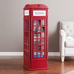 Phone Booth Storage Cabinet by
