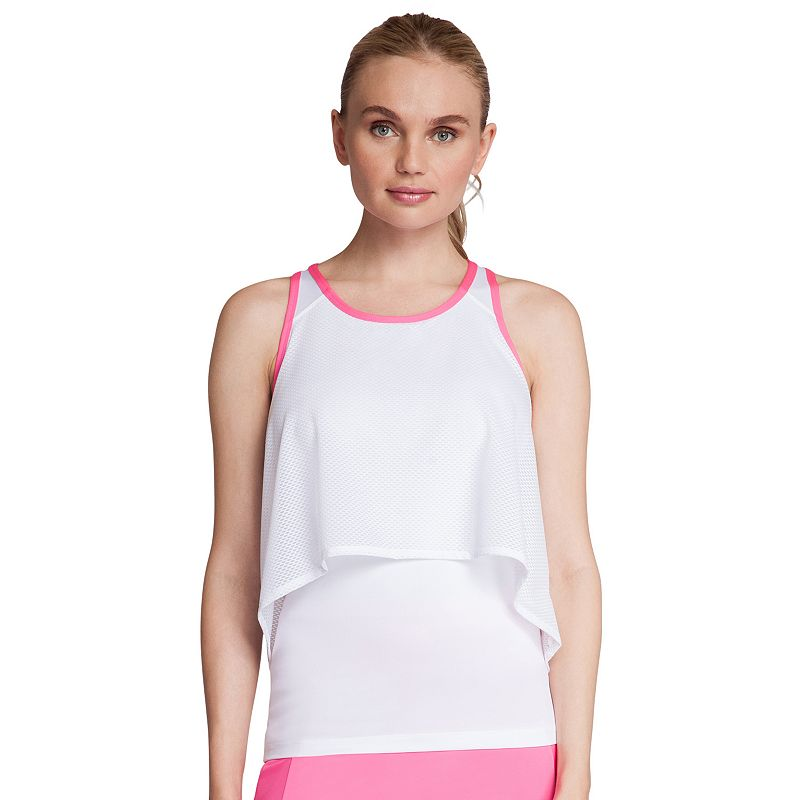 Women's Tail Shocking Siren Zelda Tennis Tank