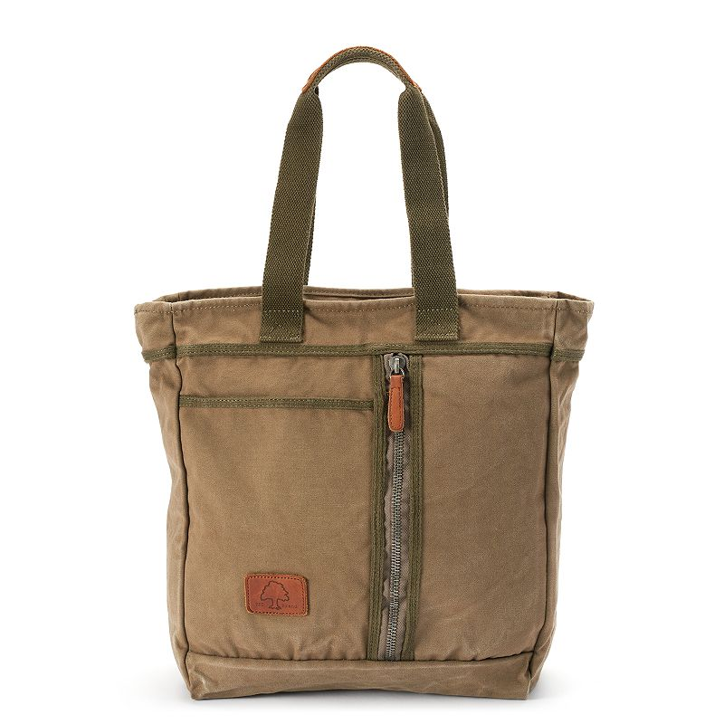 The Same Direction Forest Canvas & Leather Tote
