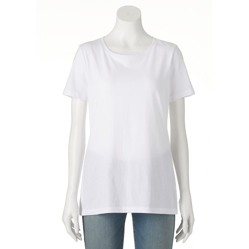 Women's SONOMA Goods for Life™ Essential Cotton Tee