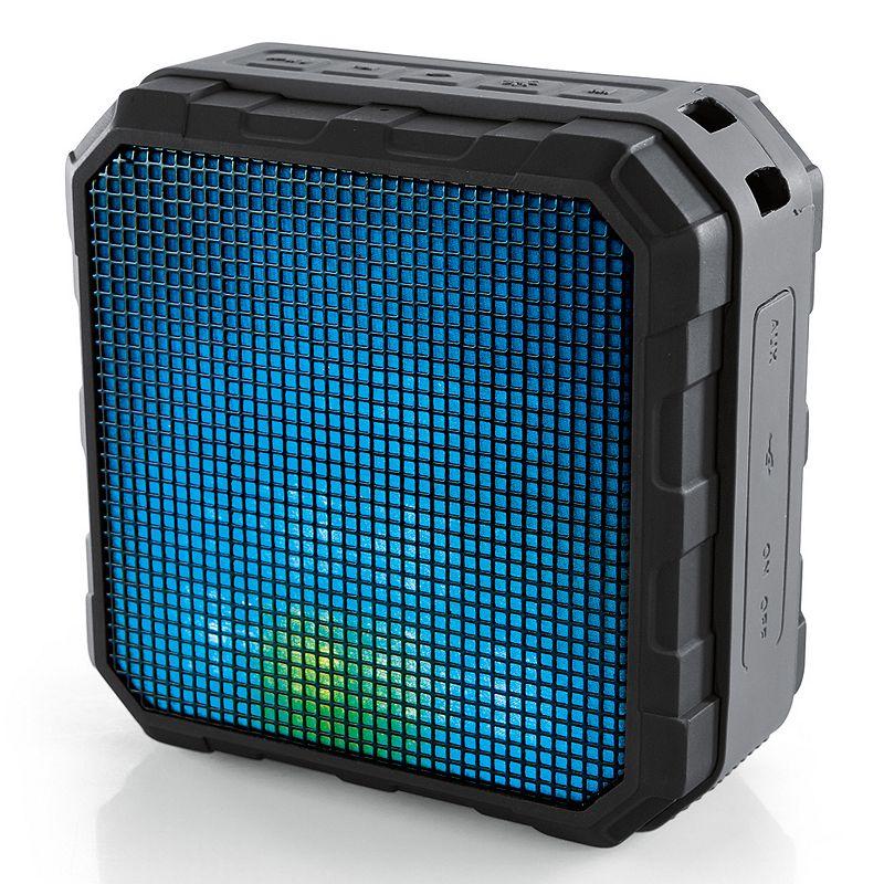 Brookstone Flash Wireless Bluetooth Speaker with Light Show