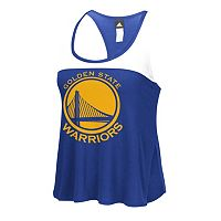 Women's adidas Golden State Warriors Finished Tank Top