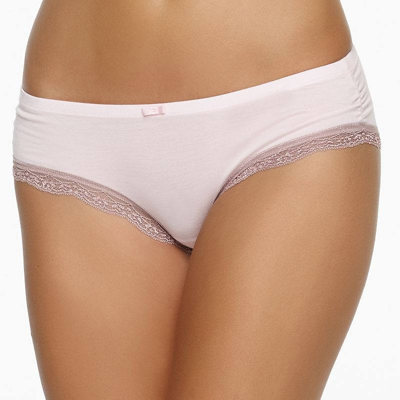 Jezebel Inviting Lace Trim Hipster 730038
