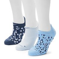 Women's Nike 3-pk. Geometric Dri-FIT No Show Socks