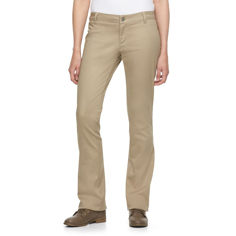 Juniors' Dickies Uniform Straight-Leg Pants
