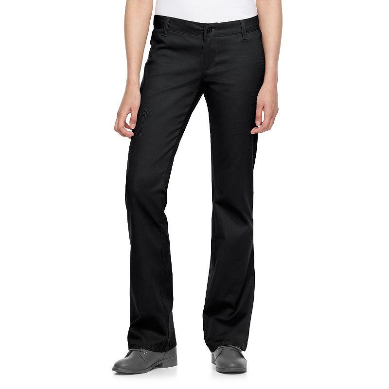 Juniors' Dickies Welt-Pocket Uniform Bootcut Pants