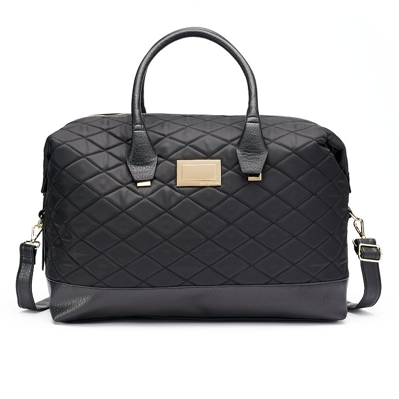 Juicy Couture Quilted Weekender Bag, Grey