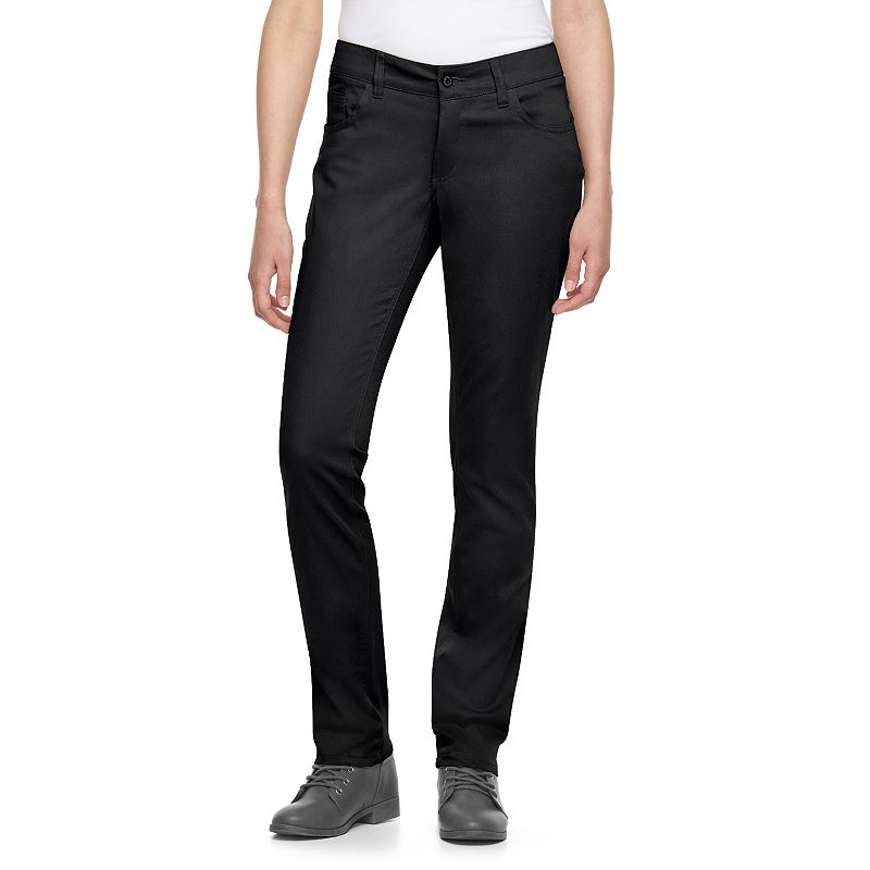 Juniors' Dickies Curvy Fit Uniform Skinny Pants