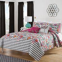 Vue Flower Power 5-piece Reversible Bed Set